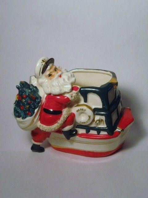 452 Best Vintage Christmas Santas Images On Pinterest
