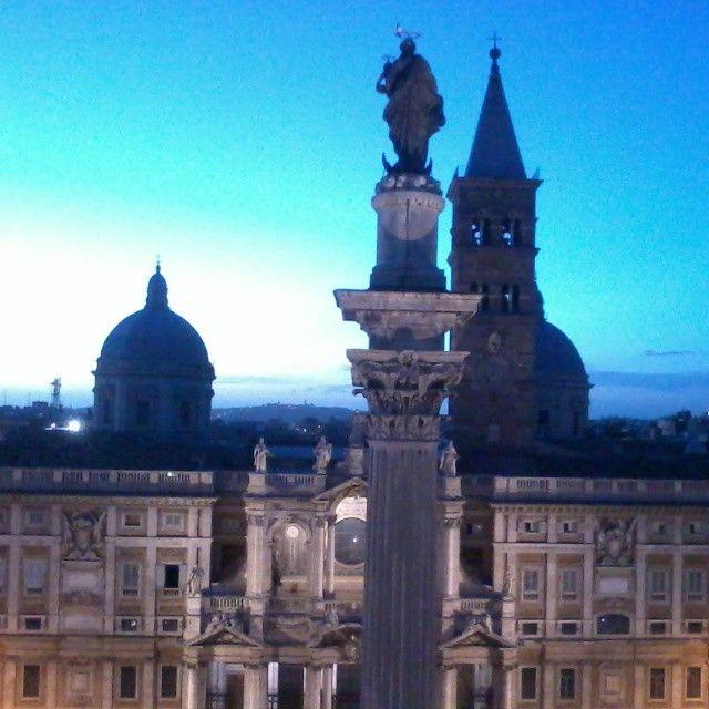 #Rome - Basilica di Santa Maria Maggiore, #Latium #Italy  | #travel #tourism #Italia #vacation #leisure #MyInstagramPhoto #igersitalia #igers #igersroma