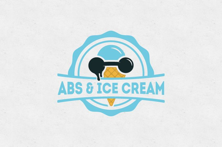 ABS & Ice Cream logo design   FOR SALE - if you wish to purchase contact me at: musiquedesigns@gmail.com