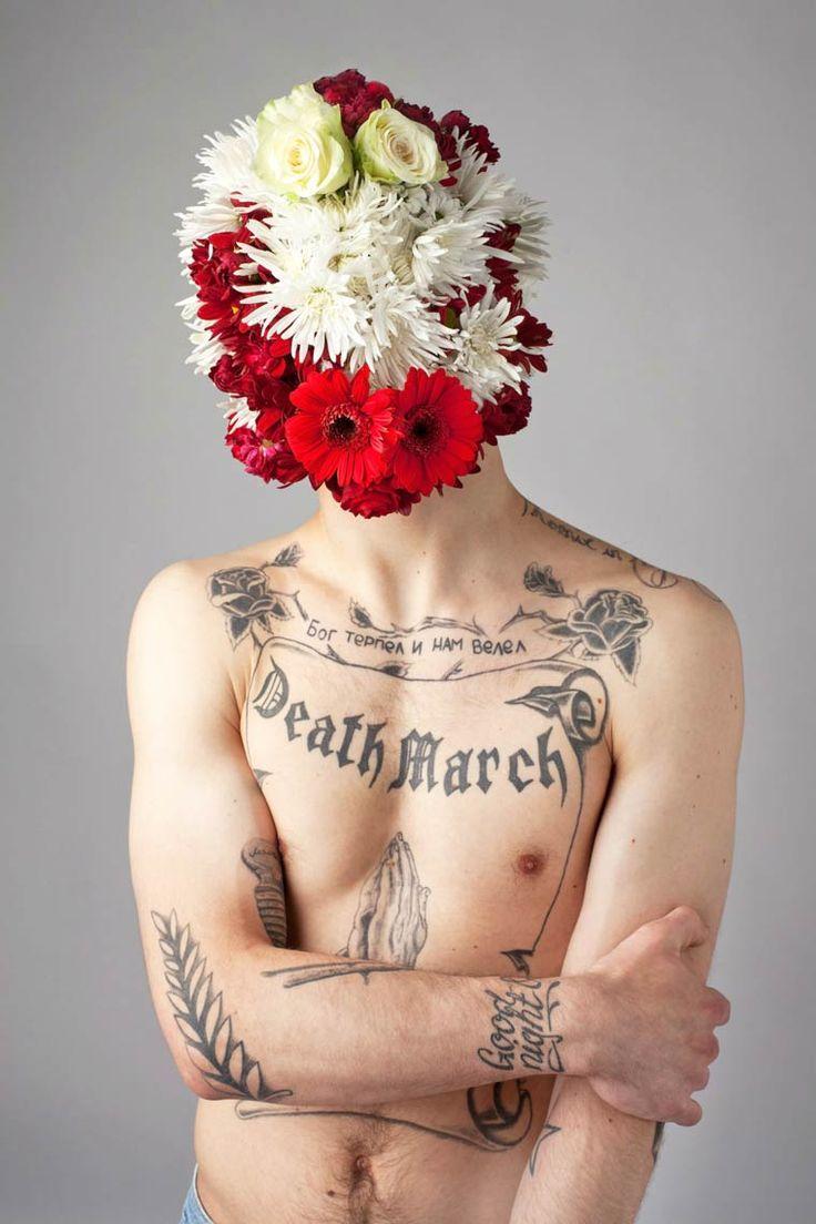 Des hommes et des fleurs – Les portraits fleuris d'Aleksandra Kingo