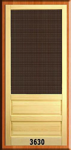 Shop Now For Wood Screen Doors and Wood Storm Doors -  ScreenEZE - Super Screen