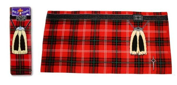 Банное полотенце «Шотландский килт»