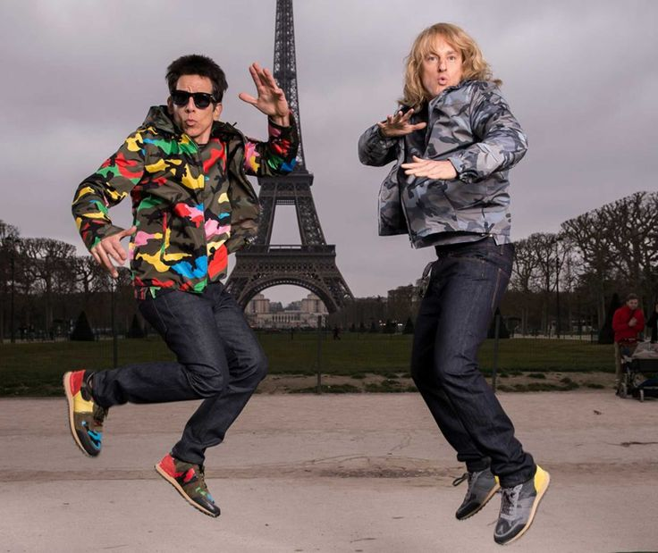 Valentino Teases Photo Shoot with Derek Zoolander and Hansel in Paris. The hottest male models of the early aughts are back in a big way.