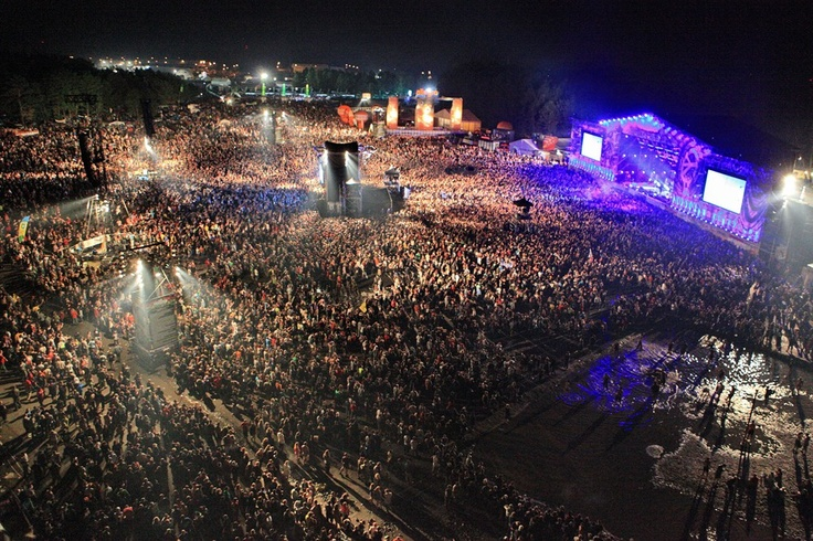 18th Woodstock Festival Poland - the crowd (WOW)