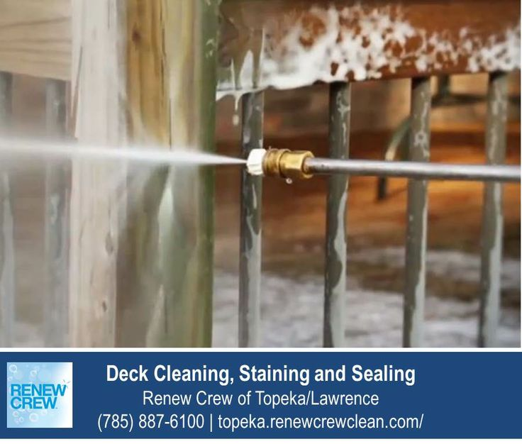 12 best images about deck cleaning topeka ks on pinterest for Patio cleaning solution