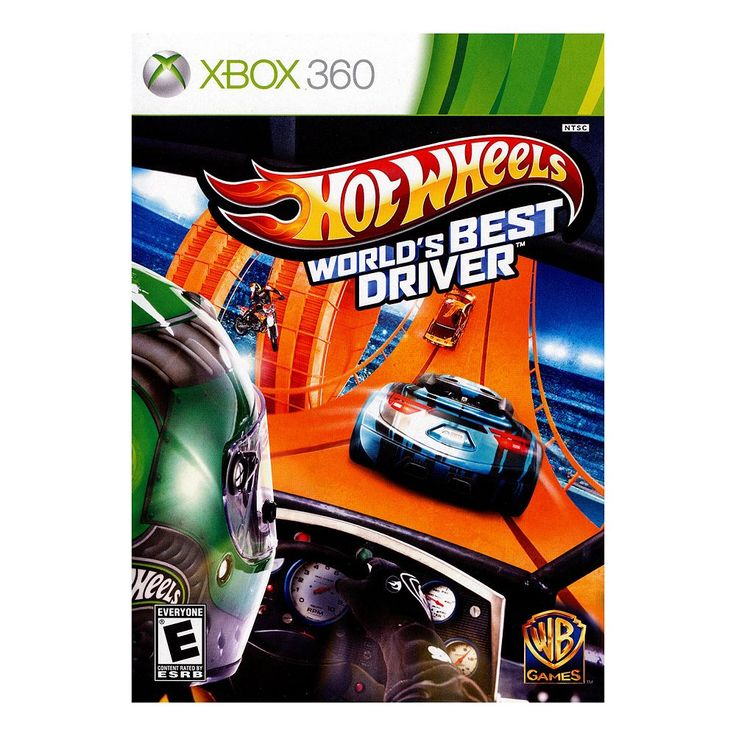 Hot Wheels: World's Best Driver for Xbox 360, Multicolor