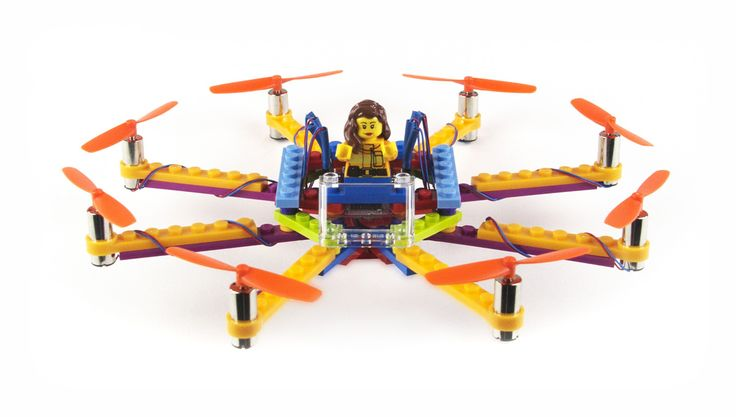 Flybrix Kits: DIY Rebuildable, Crash-Friendly Drones Using LEGO�