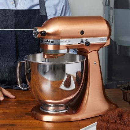 KitchenAid® Artisan® Copper Stand Mixer, 5 qt. | Sur La Table