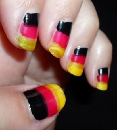 German flag.
