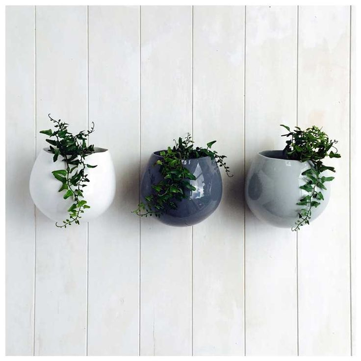 Wall Herb Pots - www.koop.co.nz
