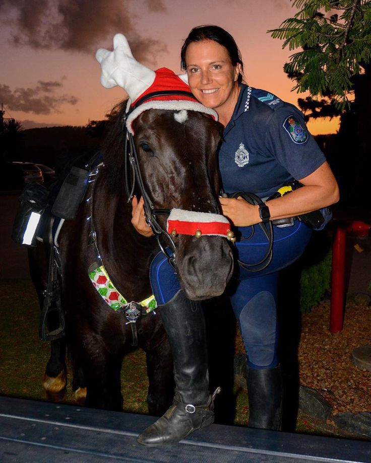 Hercules and Senior Constable Kate Blomkamp
