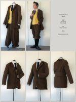 Tintin - suit by KaoKoneko