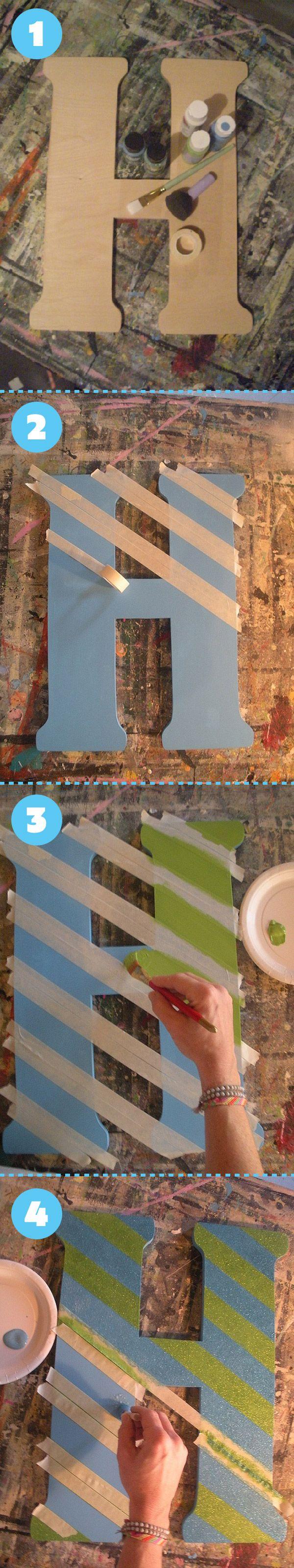 H-PhotoSet.Oversized Wood Letters: flasHy