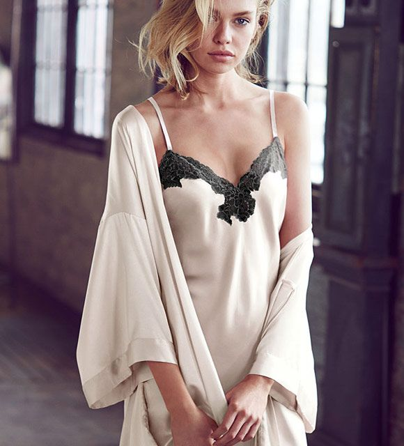 Dream Angels Lace Trim Slip is part of the #lingerie collection on Haute Day.  Check out http://hauteday.com/