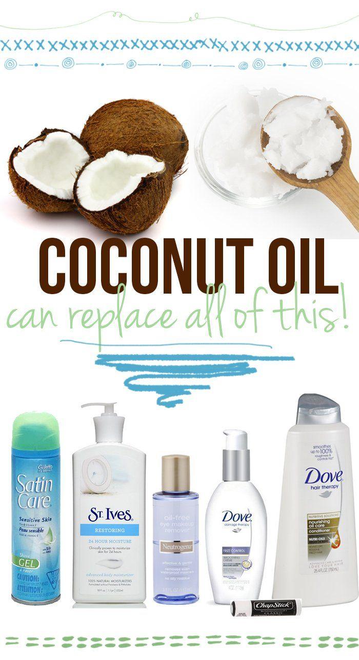 Kokos-olie als bodylotion, ...
