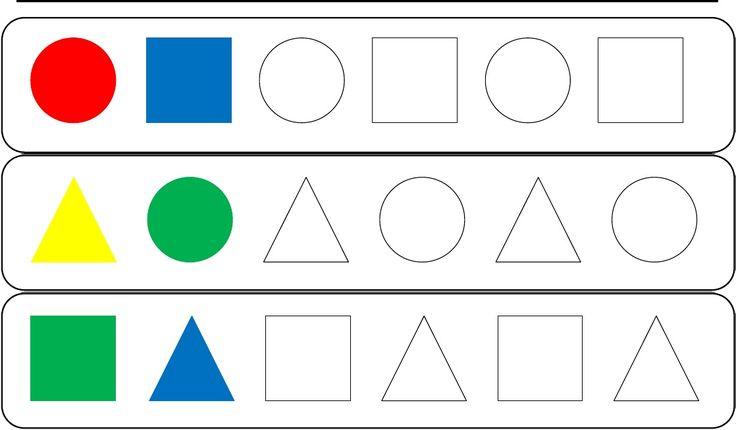 fichas formas geométricas básicas | Scribd