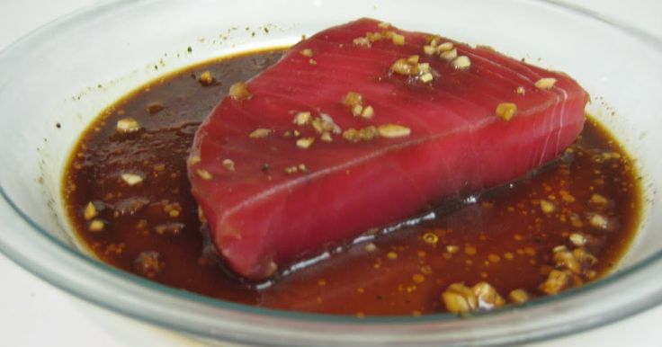 I found this quick and wonderful marinade for tuna steak the other day that I just had to share with you. This was the first recipe I came a...