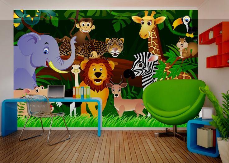 behangenverf.com - Fotobehang - AG Design - AG Design Fotobehang Zoo