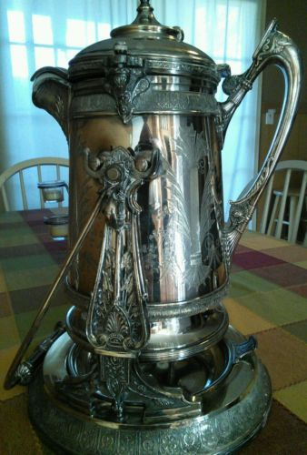 Reed Barton Victorian Aesthetic Silver Tilting Water