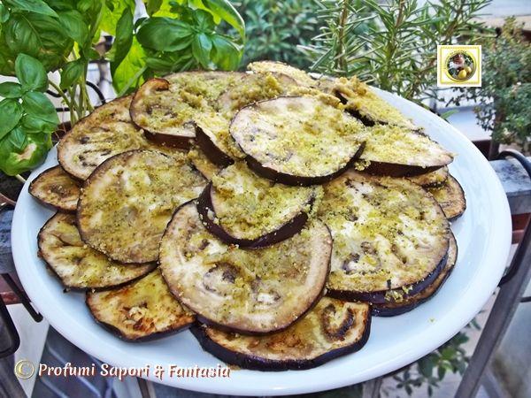 Fette di melanzane al forno saporite  Blog Profumi Sapori & Fantasia