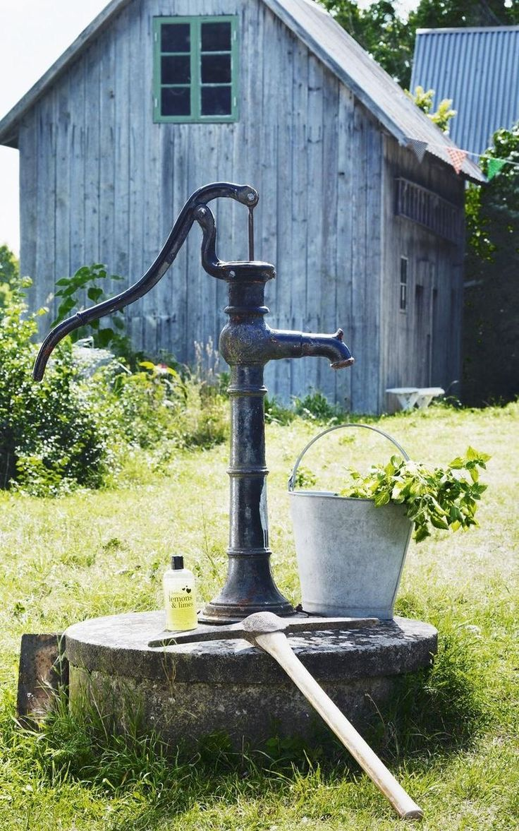 1762 best old fashion water pumps images on Pinterest | Gardening ...
