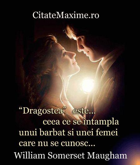 """""""""""Dragostea"""" este... ceea ce se intampla unui barbat si unei femei care nu se cunosc..."""" #CitatImagine de William Somerset Maugham Iti place acest #citat? ♥Distribuie♥ mai departe catre prietenii tai. #CitateImagini: #Dragoste #WilliamSomersetMaugham #romania #quotes Vezi mai multe #citate pe http://citatemaxime.ro/"""