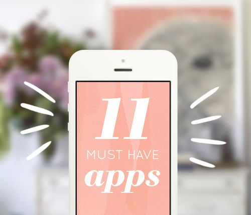 11 Apps I Can't Live Without, from apps to make you happier to apps that help you find your dream sofa. #apps #tech