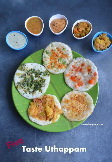 five taste Uthappam | Weekend Breakfast
