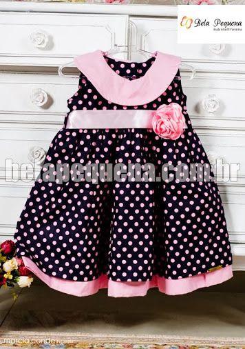 62075fa42 Roupas infantil feminina compra online Vestido De Festa Para Bebês