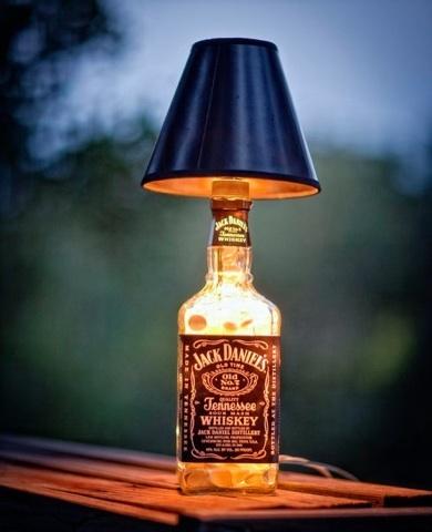 Diy Lampe Jack Daniels