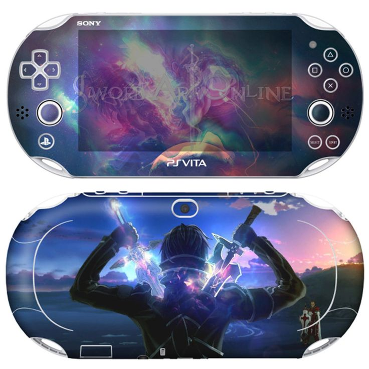 POPSKIN Skin Decals Stickers For PS VITA SLIM PCH-2000 Series SAO #08+Free Gift  #POPSKINKOREA Experience the world's most Elaborate design Skins