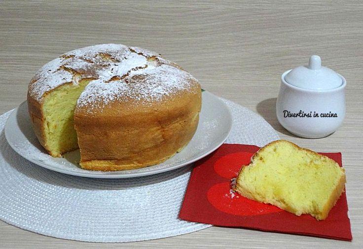 Chiffon cake senza stampo