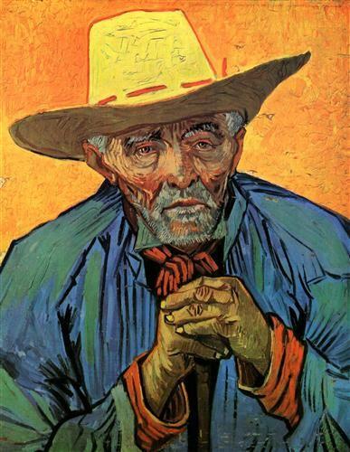 Portrait of Patience Escalier (The Farmer) - Vincent van Gogh