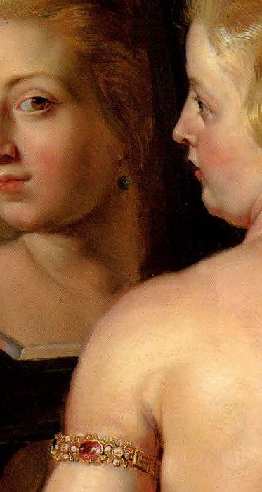 Peter Paul Rubens (1577–1640), Venus at a Mirror, detail