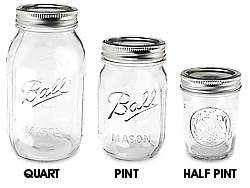 $1.05 per jar! Glass Canning Jars, Ball Canning Jars in Stock - ULINE