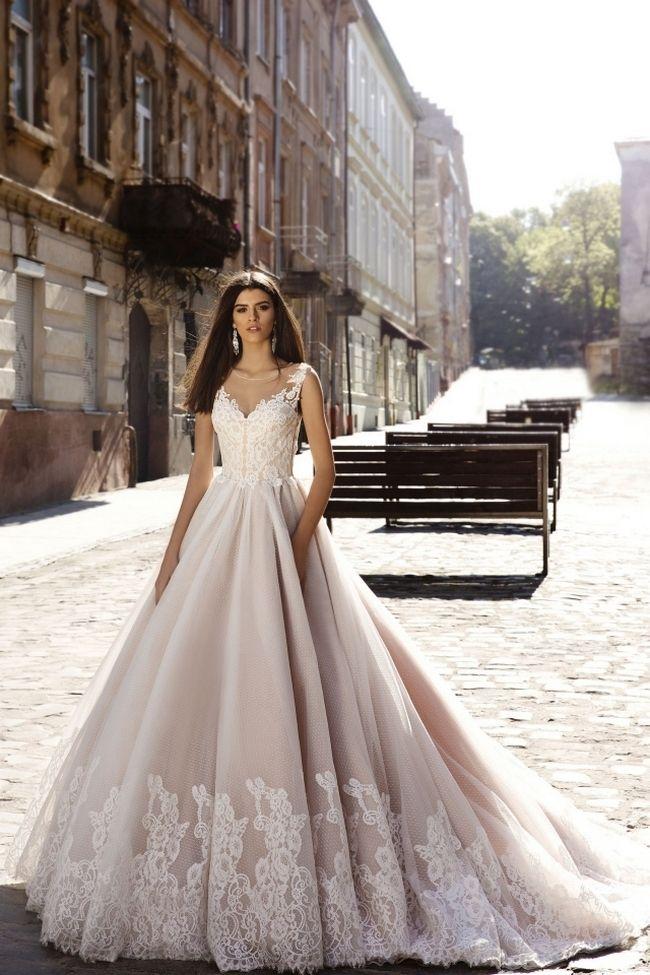 cool Красивые свадебные платья (50 фото) — Модные тенденции, новинки 2017 Читай больше http://avrorra.com/krasivye-svadebnye-platya-foto-modnye-tendencii-novinki/