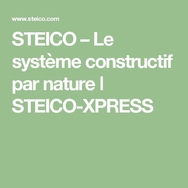 STEICO – Le système constructif par nature ǀ STEICO-XPRESS