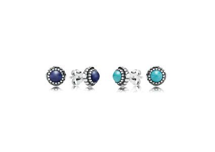 Pandora Birthstone Earrings $75