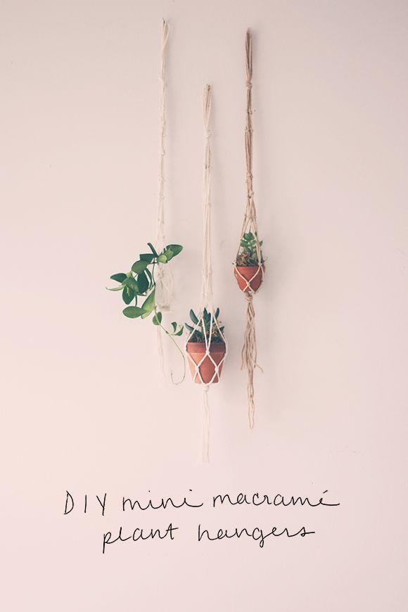 2 Mini String DIYs