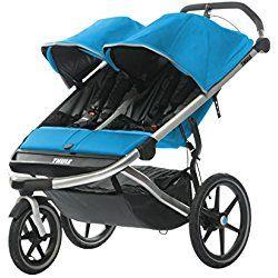 Thule Urban Glide - Double Jogging Stroller Blue