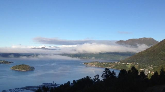 This was filmed an early morning in September. It almost feels like being at the top of the world!   Liadal, Norway