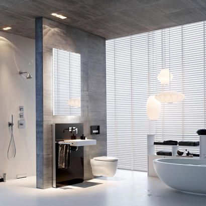 28 best Geberit Monolith images on Pinterest Bathroom design - badezimmer naturt amp ouml ne