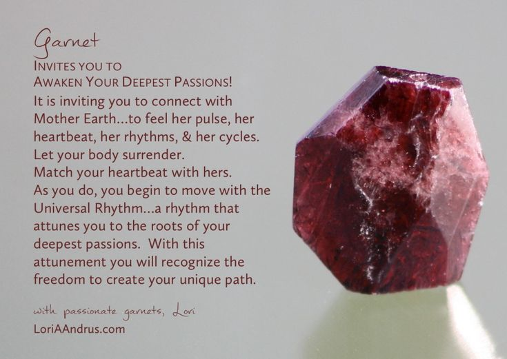 Garnet- one of my minerals                                                                                                                                                                                 More