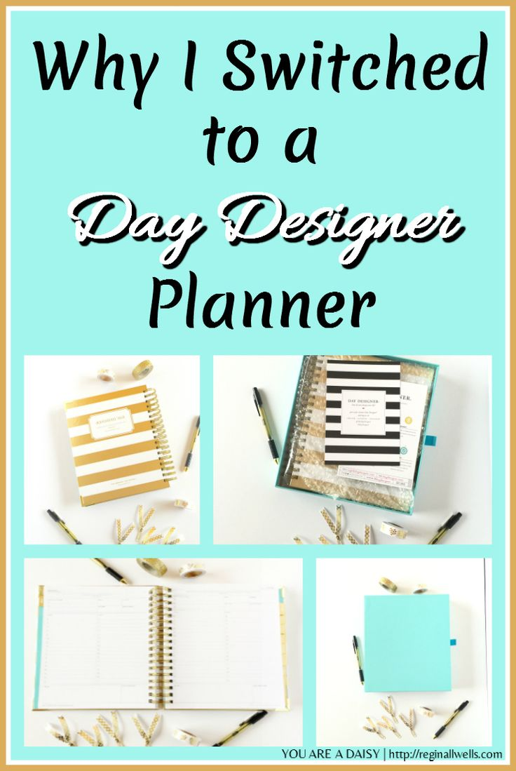 """Why I switched from my """"Other"""" planner to a Day Designer planner and am glad for it. Better layout, more durable, more functional, and pretty to boot."""