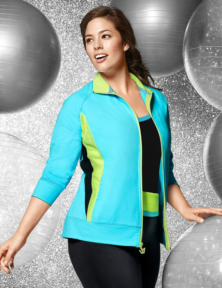 Livi Active by Lane Bryant. Livi Active is like Lane Bryant's more fun, more popular younger sister. The patterns are bold and the styles are flattering.