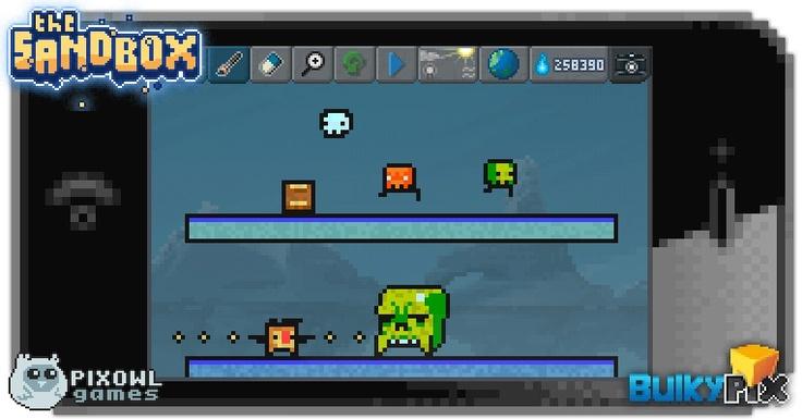 Tribute to Super Crate Box  #pixelart #sandbox #pixel #art #ios #iphone