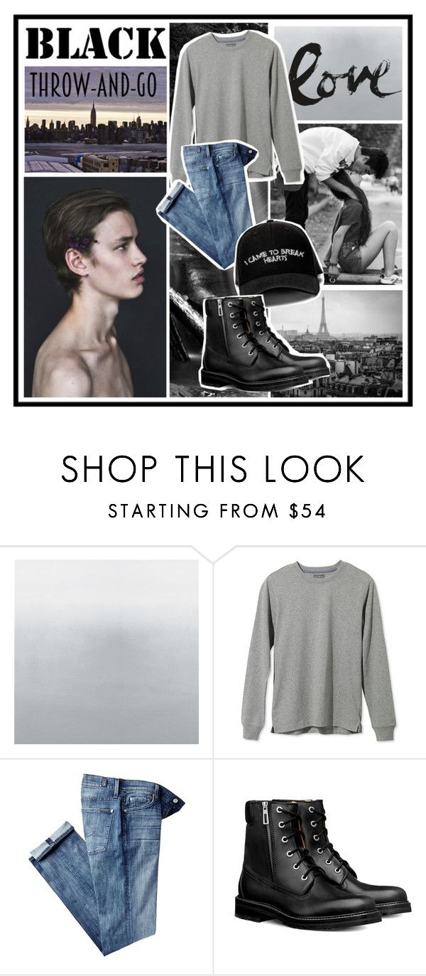 """""""I came to break hearts"""" by sarabarlaup on Polyvore featuring L.L.Bean, 7 For All Mankind, Manolo Blahnik, men's fashion and menswear"""