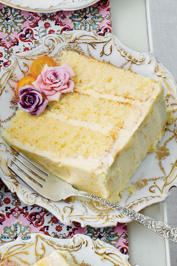 The New Ladies Lunch Orange Chiffon CakeLuncheon RecipesDessert