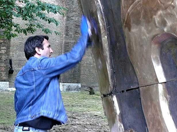 Cinquew News: Elmo di Fieramosca. L'opera monumentale di bronzo ...