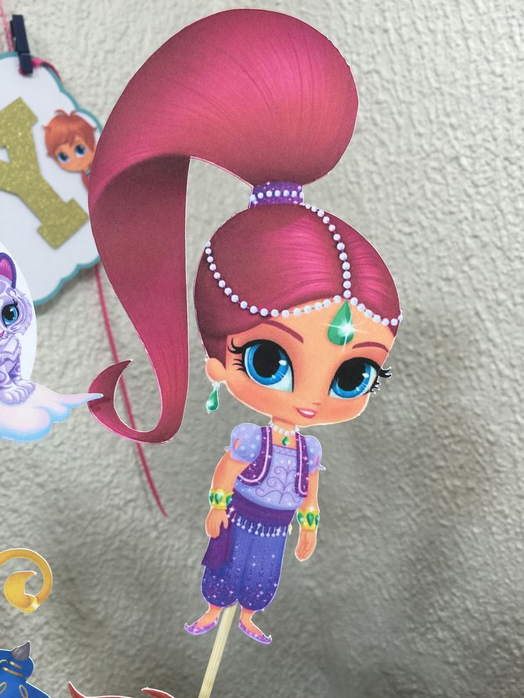 Pin by yuli 39 s craft on shimmer and shine party pinterest for Shimmer and shine craft ideas